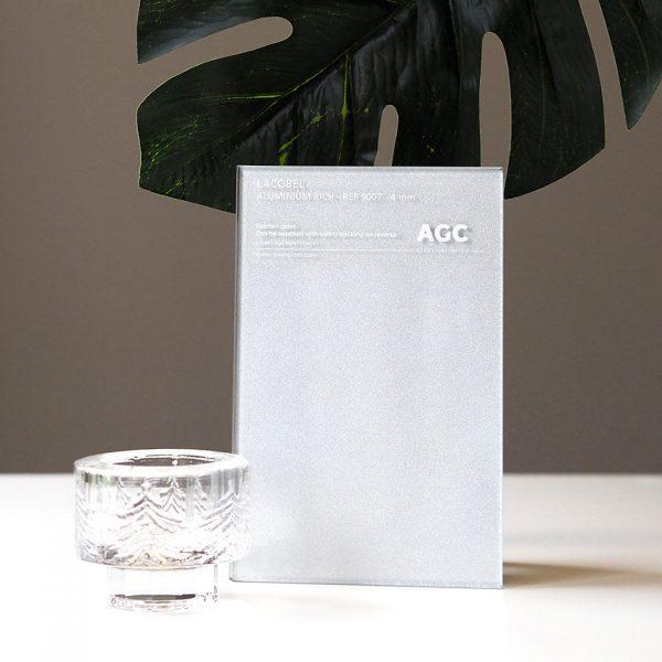 Lacobel alumininum rich 9007